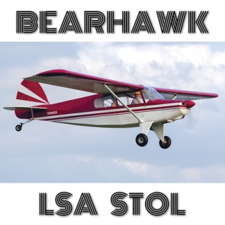BEARHAWK LSA STOL PLANS AND INFORMATION SET FOR HOMEBUILD AIRCRAFT - MODERN CUB