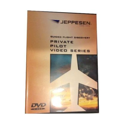 JEPPESEN GFD PRIVATE PILOT AND INSTRUMENT COMMERCIAL VIDEO SERIES ON 6 DVD JS200310-JS200311