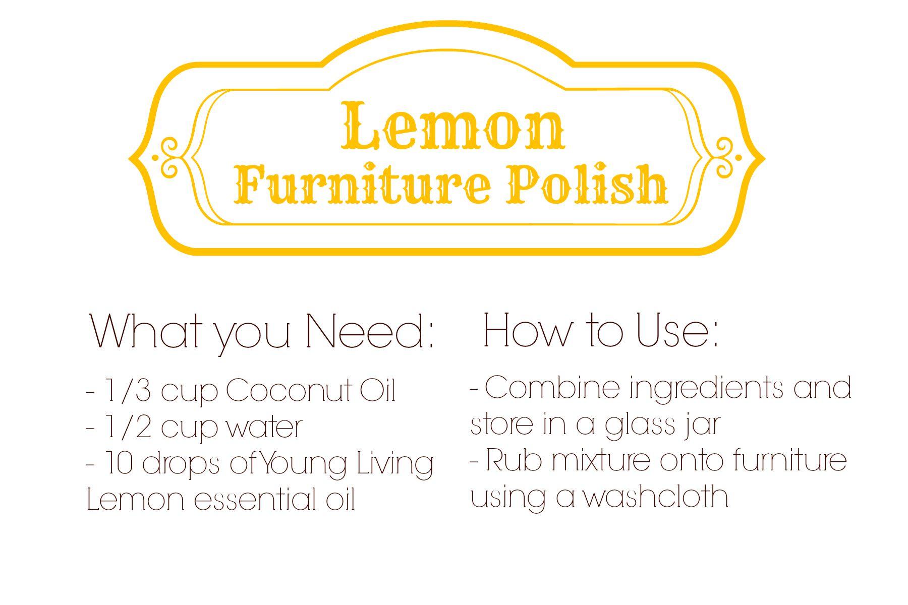 LemonFurniturePolish