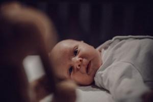 Ari Fox Lying Newborn Crib Bunny Photography Cardiff