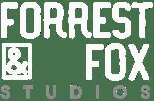 logo forrest and fox newborn photography