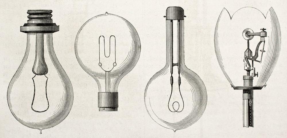 Thomas Edison Light Bulb Story