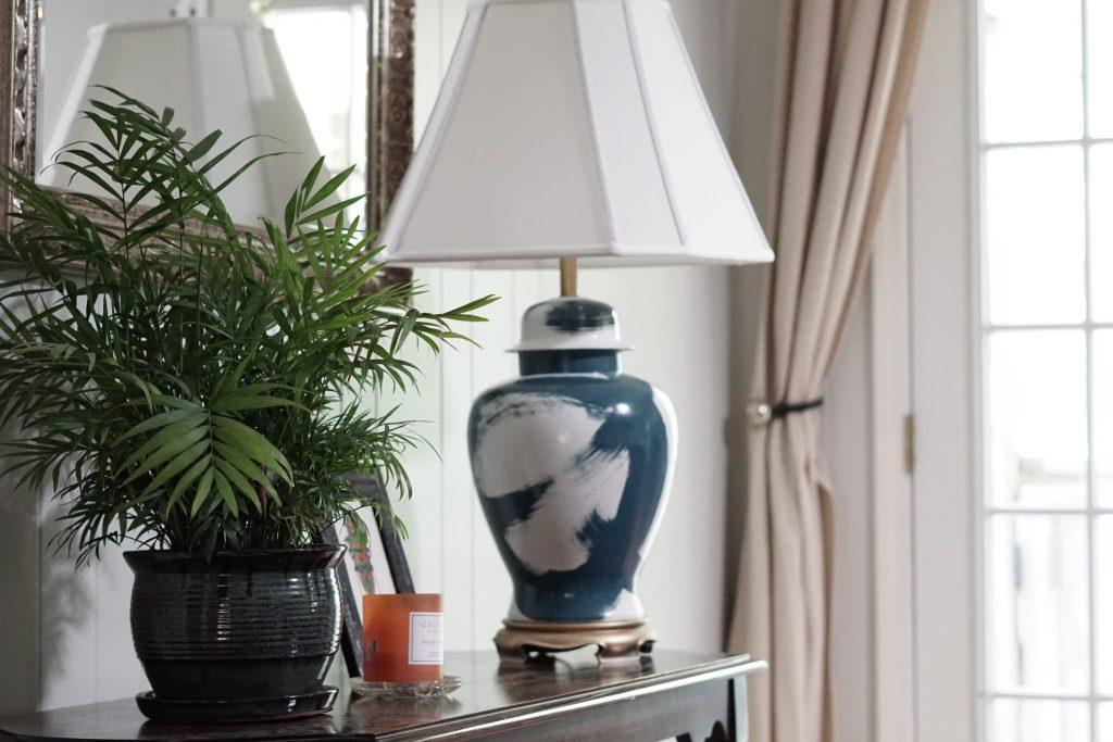 brushstroke lamp knockoff