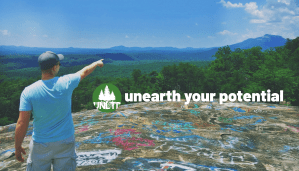 Mountain view representing unearth your potential