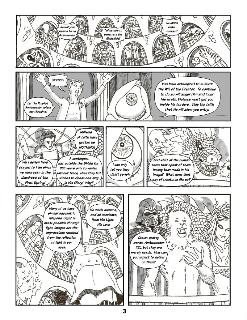 Forsaken Stars Issue Two Page 3