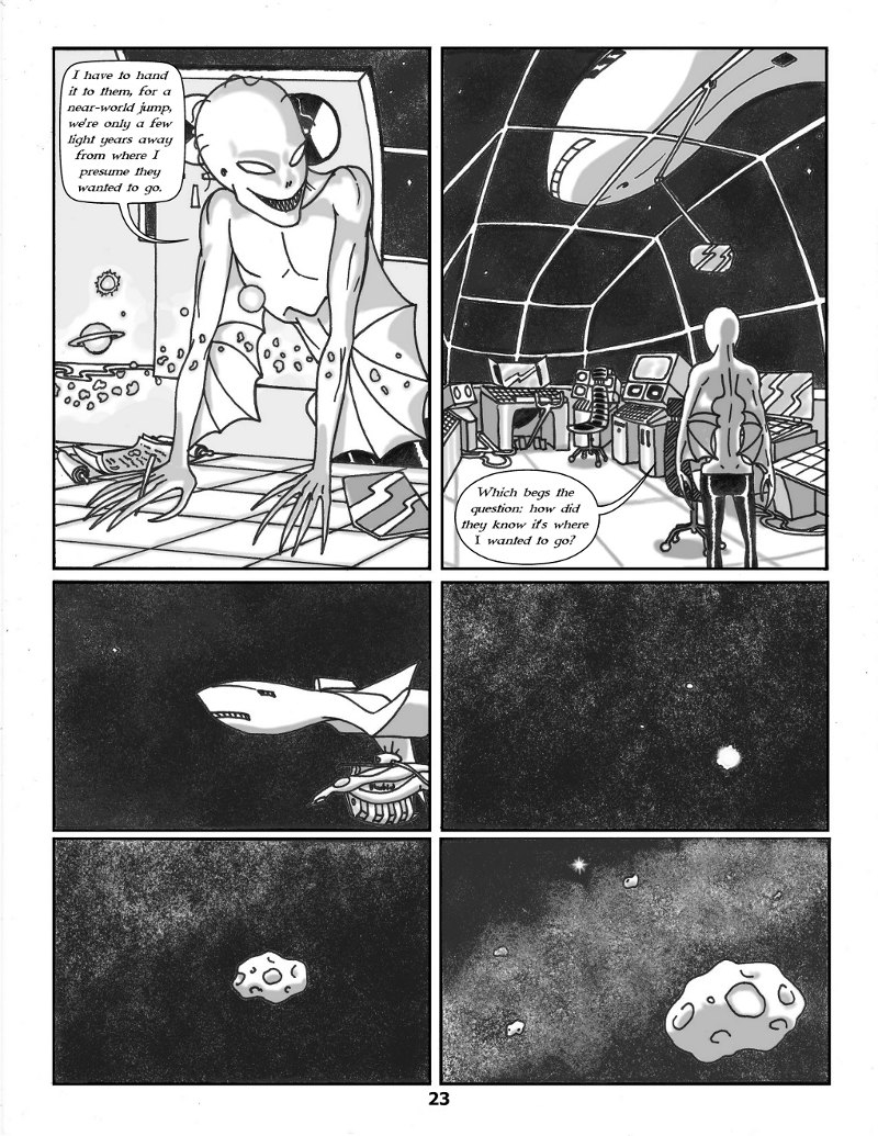 Forsaken Stars Issue Three Page 23