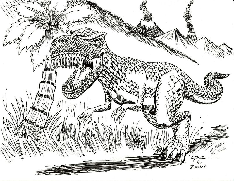 A Dinosaur for Zander