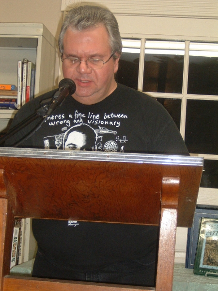 Don Gilbert at Open Mic Night