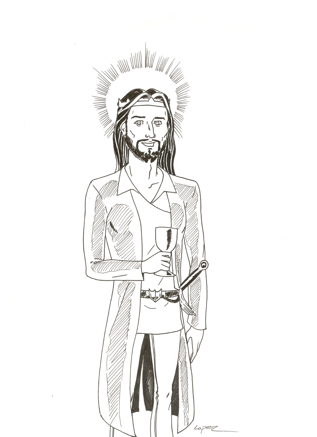 Jesus Concept Art