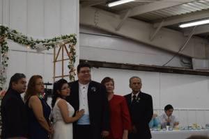 Augustine, Rita, Alisha, myself, Juanita and Robert Sr.
