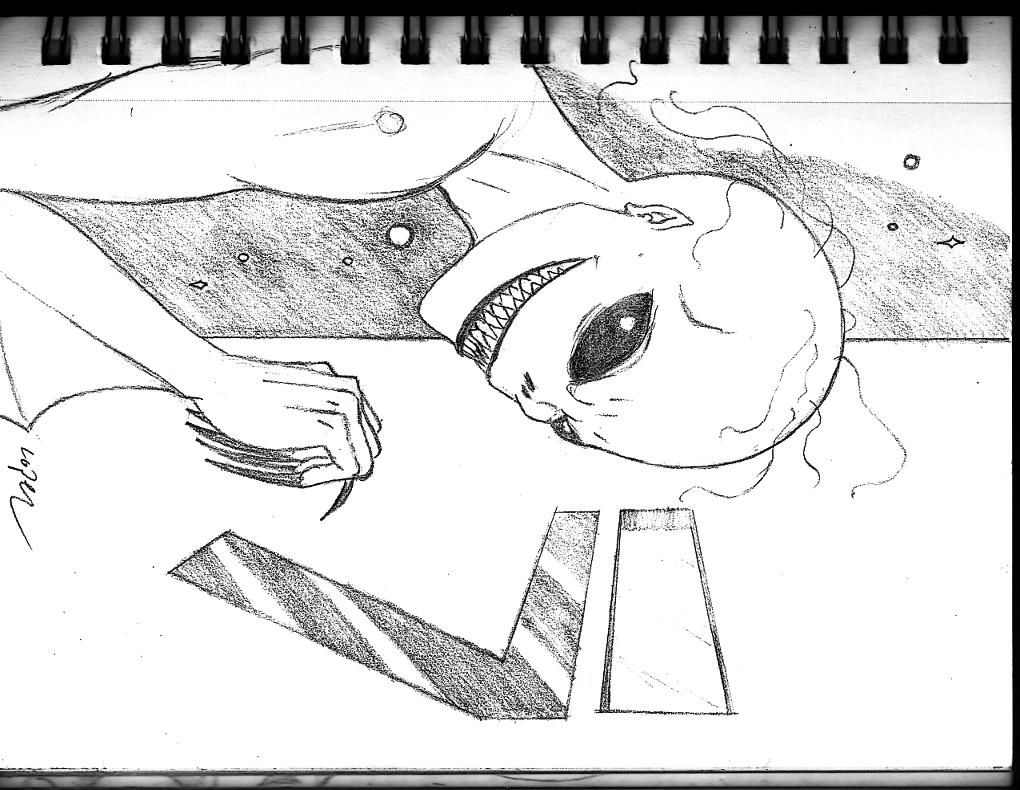 Azzi, Space Vampire Storyboard 004