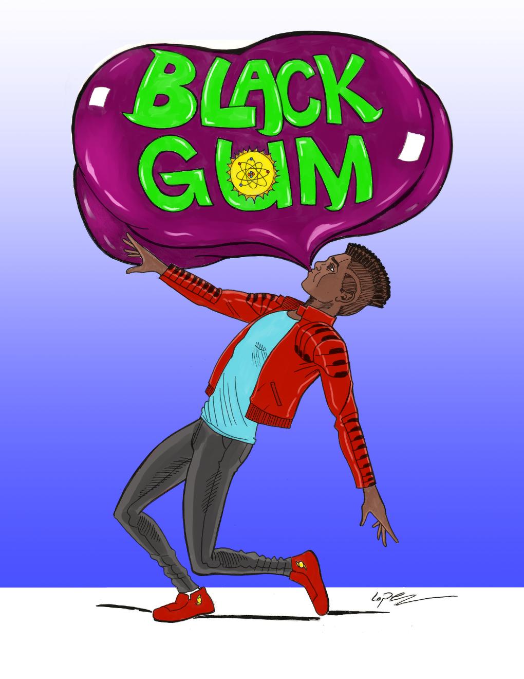 Black Gum Issue 1 Cover Art