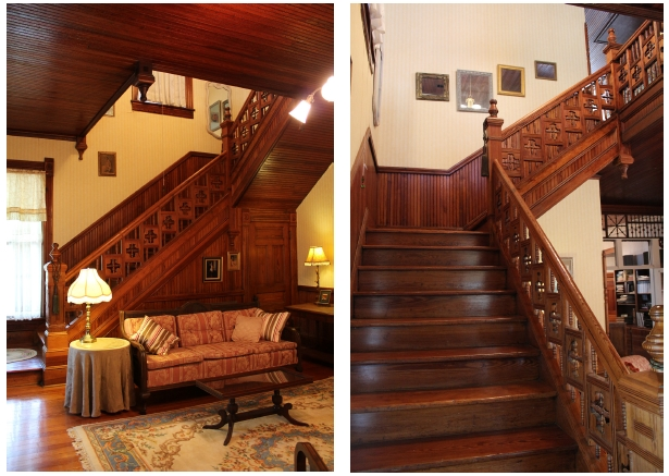 210 S Townville St Stairway