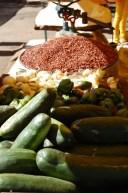 Zutaten für ein cubanisches Gericht.