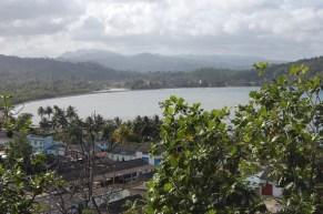 Schöne Aussichten in Baracoa.