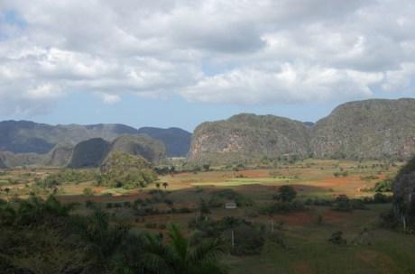 Das Tabaktal von Vinales in Cubas Westen.