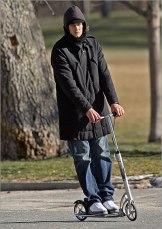 Tom Brady Scooter