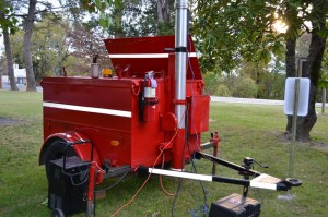 Light Trailer 2 Mobile 10kw Light /Generator On Loan From MO Conservation FPP Program