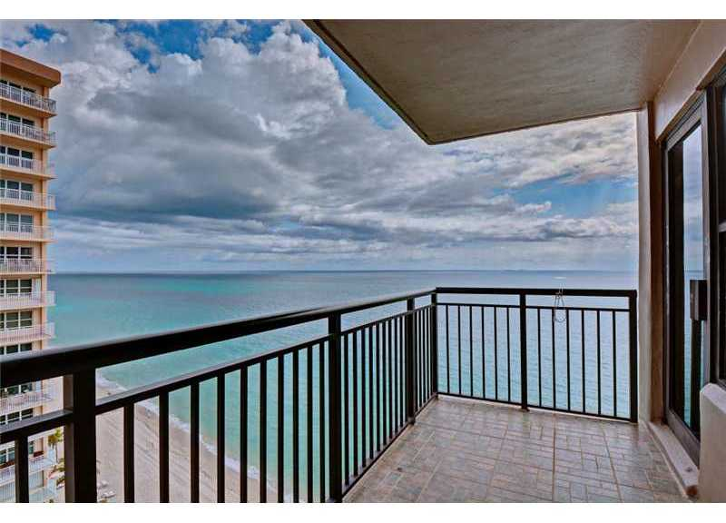 Ocean views from Galt Ocean Club Ft Lauderdale
