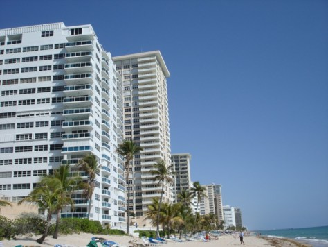 View of Galt Ocean Mile Beach and Condominiums