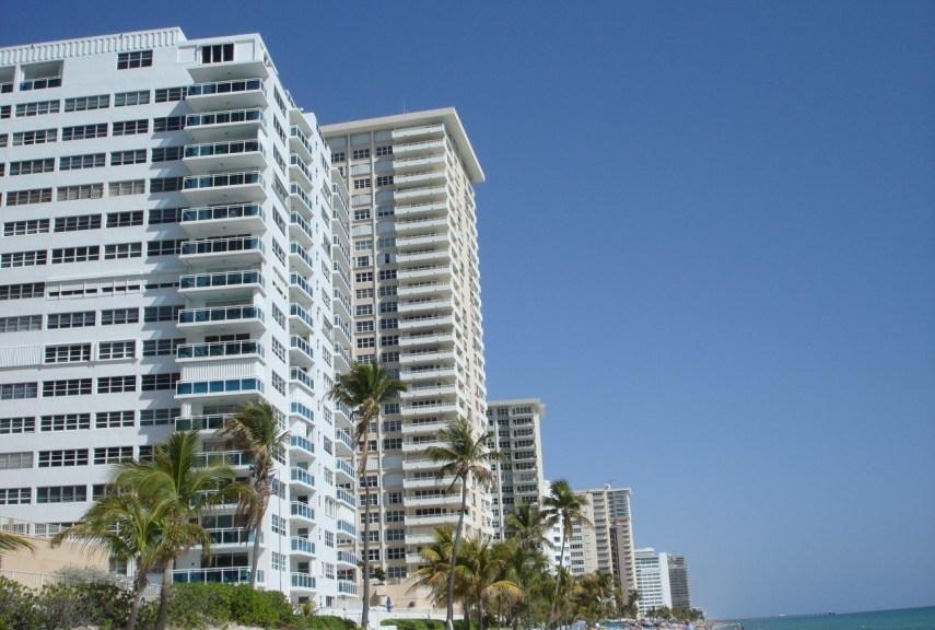 View of Galt Ocean Mile Beach and Condominiums