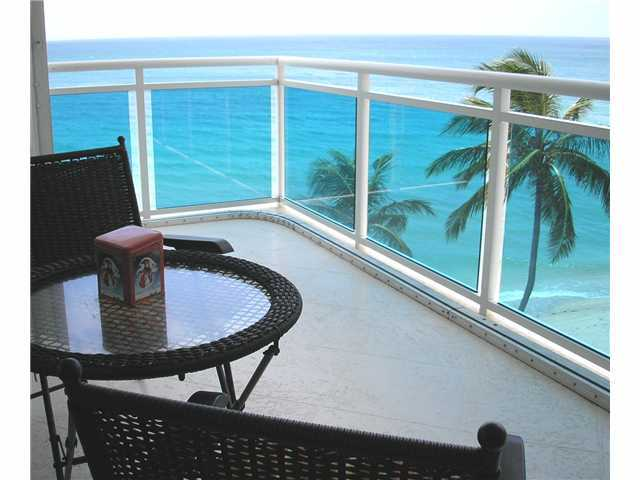 View from an Oceanfront Condo