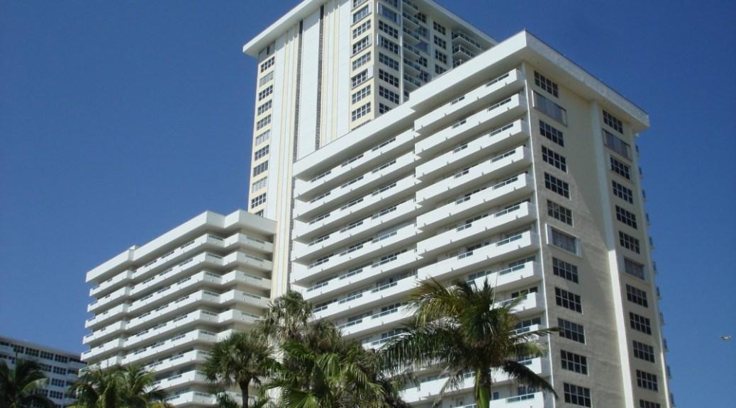 View of Playa Del Sol here in Ft Lauderdale FL