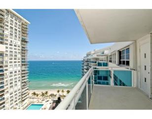 View from one of the condo here in Commodore Ft Lauderdale