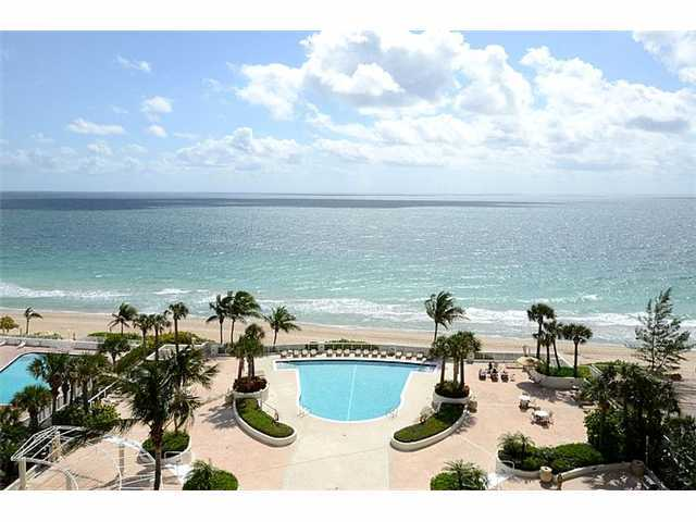 View from a condo for sale here in L'Ambiance Ft Lauderdale