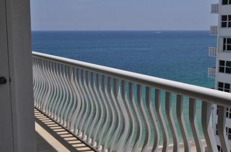 View from a condo for sale here in Ocean Club Fort Lauderdale