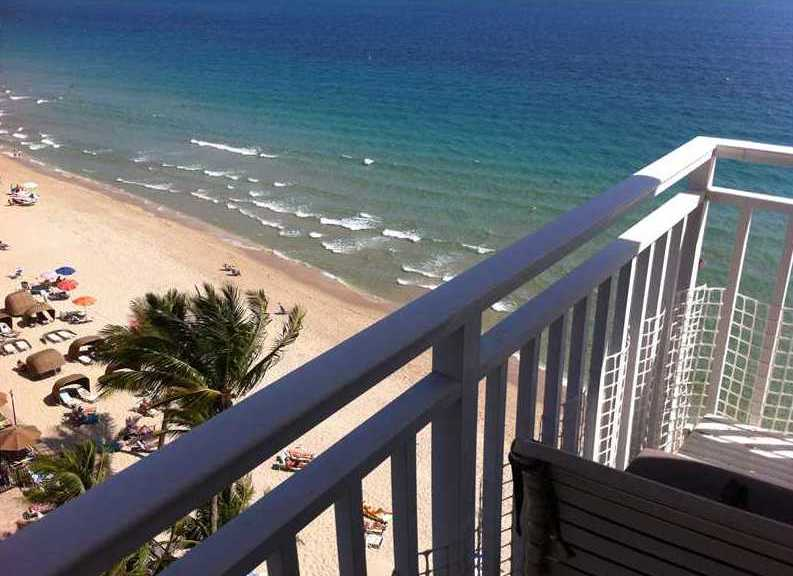 View from Regency Tower South Fort Lauderdale condos 3750 Galt Ocean Dr, Fort Lauderdale, FL