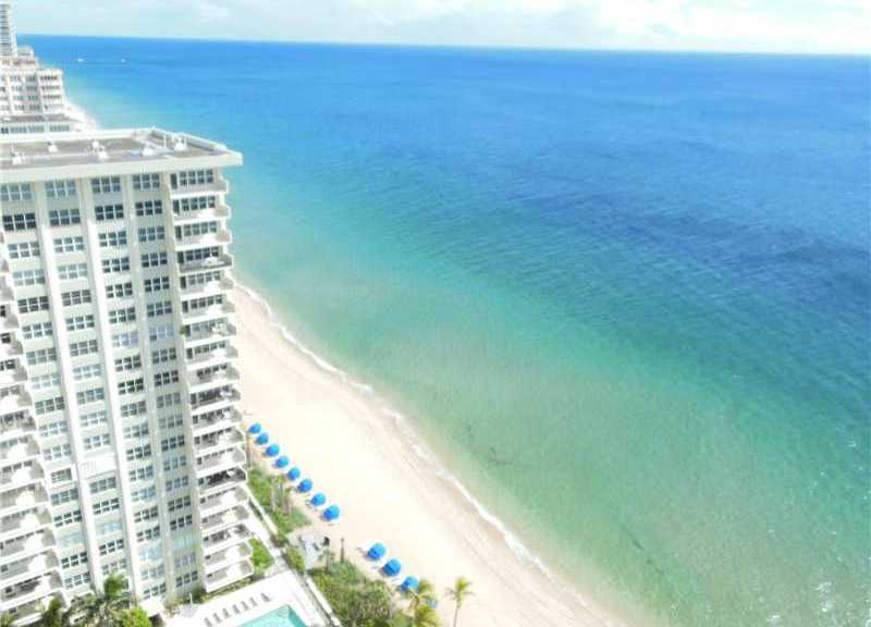 View from Playa del Mar condo here in Fort Lauderdale