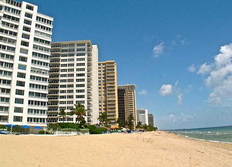 View of Galt Ocean Mile conds Fort Lauderdale