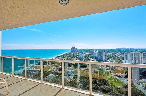 Look at these superb views from this condo for sale in L'Hermitage
