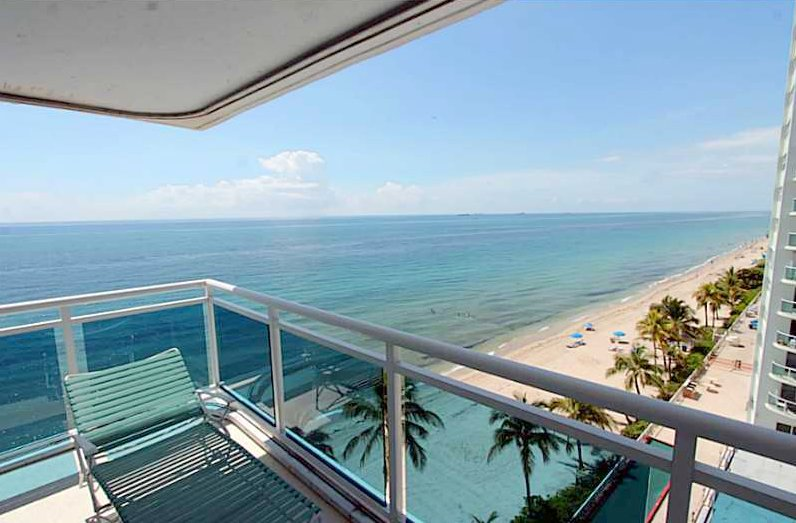 View from Fort Lauderdale condos for sale in The Commodore