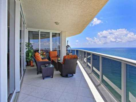 Views fro a Luxury Fort Lauderdale Oceanfront condo for sale
