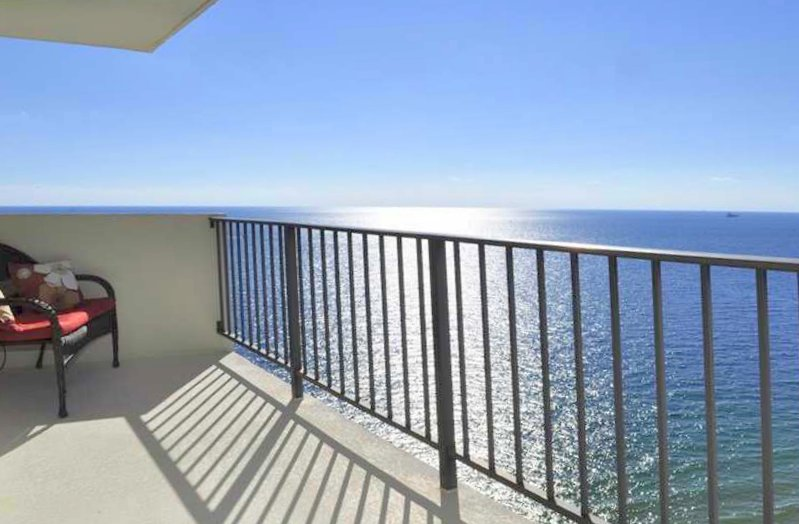 View of Fort Lauderdale condo for sale in The Riviera