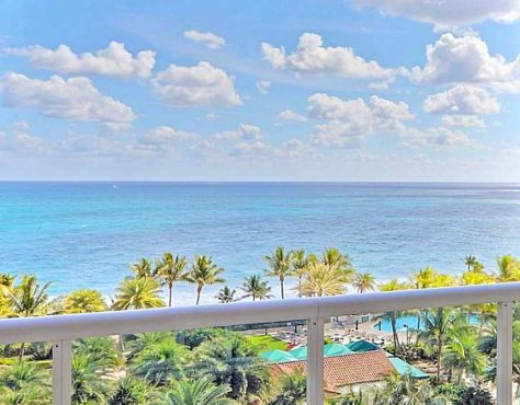 Views from a Fort Lauderdale 2 bedroom condo for sale