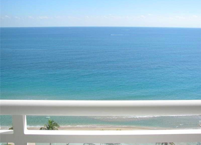 View from one of the Playa del Mar condos for sale here in Fort Lauderdale
