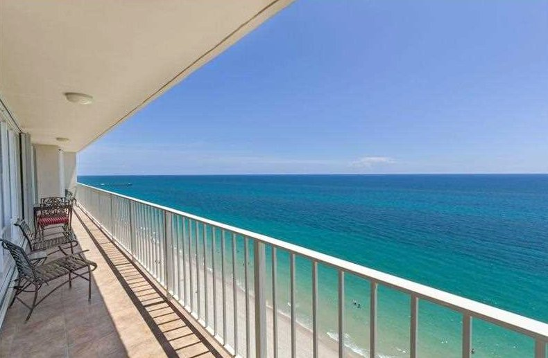 View from one of the The Galleon condos for sale Fort Lauderdale