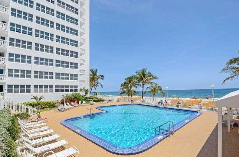 View from one of the Fort Lauderdale condos for sale here in Ocean Summit