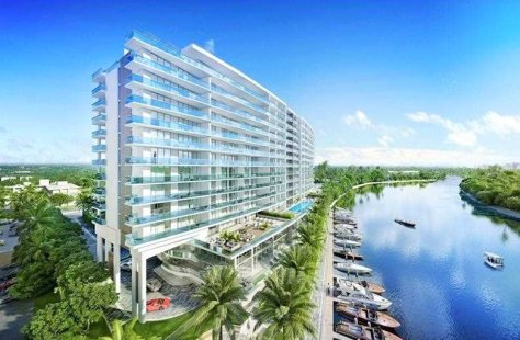 View luxury new construction Fort Lauderdale condos for sale in La Rive