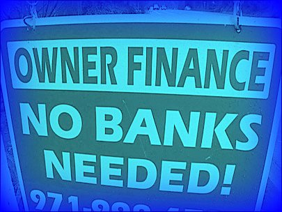Owner finance sign