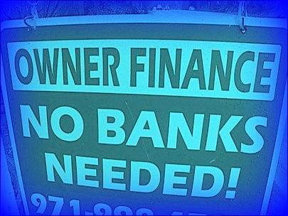 Owner finance sign