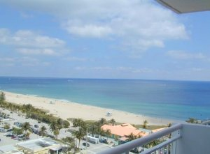 Superb views greater Fort Lauderdale condo with owner financing in Ocean Monarch