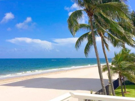 Beach views from one of the Fort Lauderdale Oceanfront condos for sale