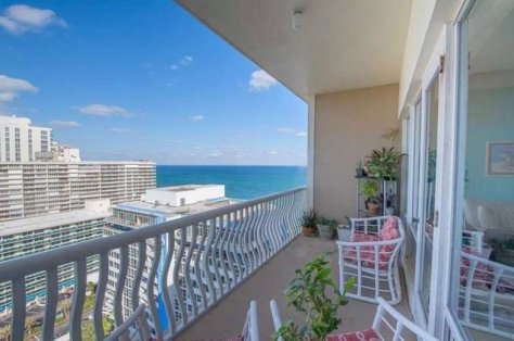 View Fort Lauderdale oceanfront condo just listed for sale in Ocean Club