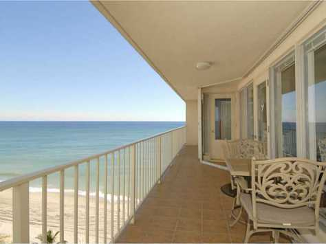 View from a direct oceanfront condo recently sold here in The Galleon - Unit 1211