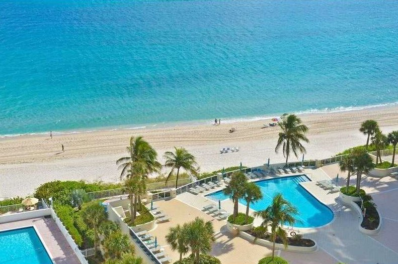 View from one of the Galt Towers condos for sale Fort Lauderdale