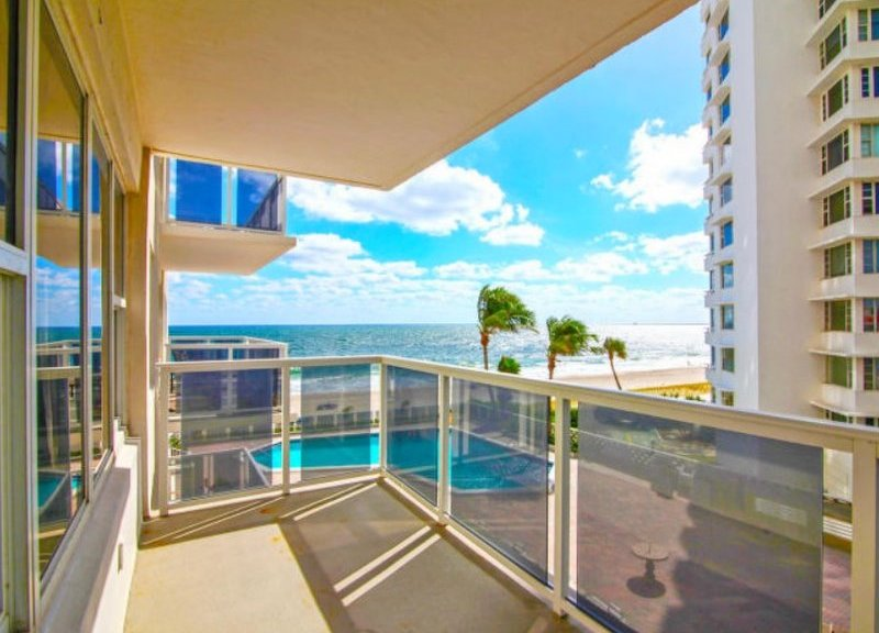 View from one of the Royal Ambassador condos for sale Fort Lauderdale